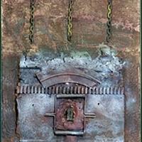 Das Grauen der Materialschlacht - Munitionskofferteil, Luftminen, Ketten, MG-Gurt, 1999