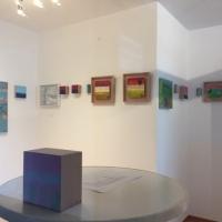 Innenraum hinten, Ausstellung Monika Schiwy