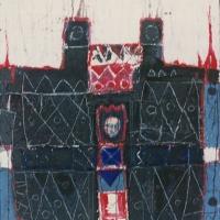 Das Blut des Beethoven – Acryl auf Holz, 85 x110 cm, 1996