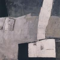 O.T. – Acryl auf Holz, 90 x 110 cm, 1993