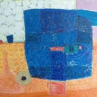 Stilleben – Acryl auf Leinwand, 90 x 110 cm, 2000